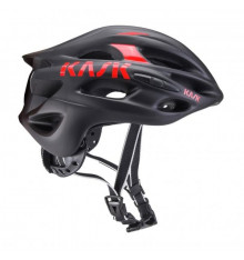 KASK Mojito-X black matte red road helmet 2019