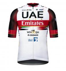 GOBIK INFINITY WORLD TOUR UAE TEAM EMIRATES 2021 men's short sleeve cycling jersey