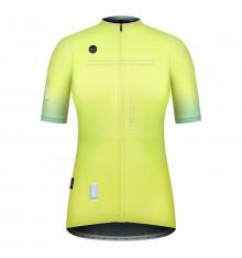 GOBIK maillot vélo manches courtes femme Stark SULPHUR 2021