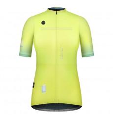 GOBIK Stark SULPHUR women's short sleeve cycling jersey 2021