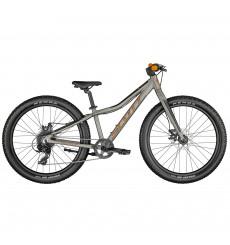 Vélo VTT ENFANT SCOTT ROXTER 24 RAW ALLOY GRIS 2021