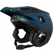 FOX RACING 2021 DROPFRAME PRO TWO TONE Dark Indigo Enduro helmet