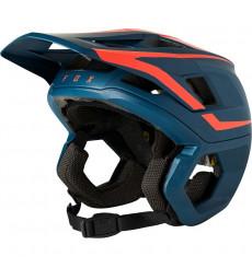 FOX RACING 2021 DROPFRAME PRO Dark Indigo Enduro helmet
