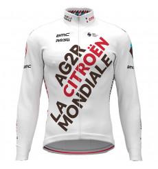 AG2R CITROËN TEAM winter cycling jacket 2021