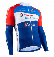 TOTAL DIRECT ENERGIE maillot manches longues 2021
