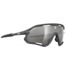 AZR lunettes de vélo ATTACK RX Gris Matte / Gris avec écran Miroir