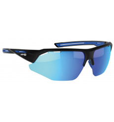 AZR GALIBIER Matte Blue with blue multilayer lens cycling sunglasses
