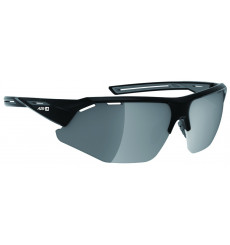 AZR GALIBIER Matte Black with Mirror lens cycling sunglasses