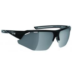 AZR lunettes de vélo GALIBIER Noir Mat avec écran Gris Miroir