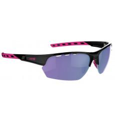 AZR lunettes de vélo IZOARD Noir / Rose avec écran Rose multicouche