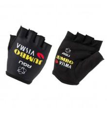TEAM JUMBO VISMA Replica summer cycling gloves 2021