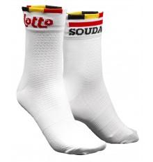LOTTO SOUDAL cycling socks 2021