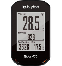 BRYTON compteur vélo GPS RIDER 420 E