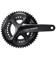 Pédalier vélo route Shimano 105 11v R7000 50/34 dents 172.5mm