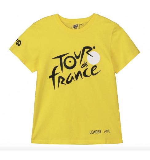 TOUR DE FRANCE t-shirt enfant Logo Leader jaune