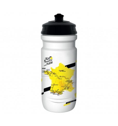 TOUR DE FRANCE Bidon parcours cycliste blanc 2021