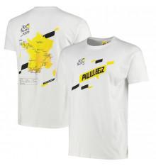 TOUR DE FRANCE white Parcours t-shirt 2021