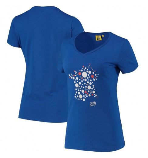 TOUR DE FRANCE T-Shirt Femme Graphique Bulle 2021
