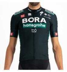 Maillot vélo manches courtes Tour De France BodyFit Replica TDF Jersey BORA HANSGROHE 2021