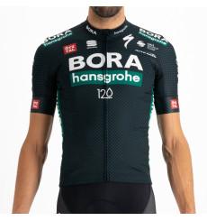 BORA HANSGROHE maillot vélo manches courtes Tour De France BodyFit Replica TDF Jersey 2021