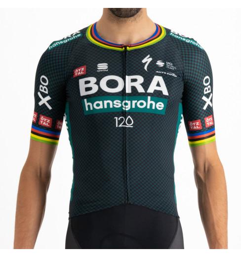 BORA HANSGROHE maillot vélo manches courtes Tour De France Champion du Monde Bomber Jersey 2021
