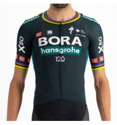 Maillot vélo manches courtes Tour De France Champion du Monde BOMBER BORA HANSGROHE 2021