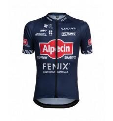 ALPECIN-FENIX Stripes kid's short sleeve jersey 2021