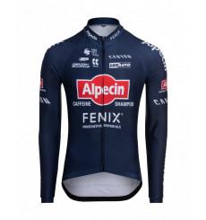 ALPECIN-FENIX Stripes men's long sleeve jersey 2021