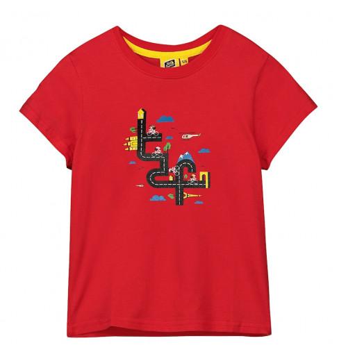 TOUR DE FRANCE t-shirt enfant TDF Graphique Rouge 2021