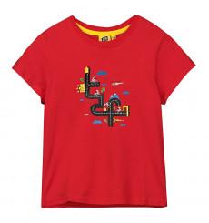 Tour de France TDF Graphic Red kids' T-Shirt 2021