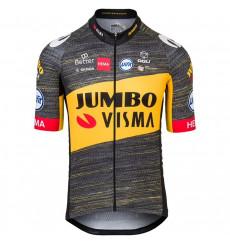 TEAM JUMBO VISMA maillot velo manches courtes Tour de France 2021