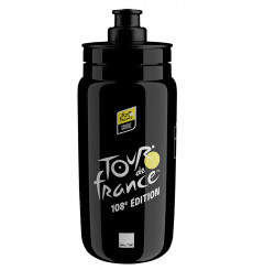 ELITE Fly Tour de France black waterbottle - 550 ml