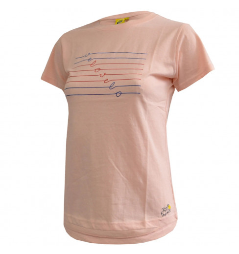 TOUR DE FRANCE T-Shirt Femme Rose Love 2021
