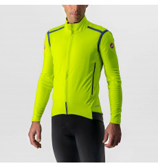 CASTELLI PERFETTO RoS winter cycling jacket yellow 2022
