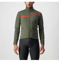 CASTELLI Transition 2 green kaki cycling jacket 2022
