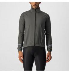 CASTELLI Emergency 2 kaki green cycling jacket 2022