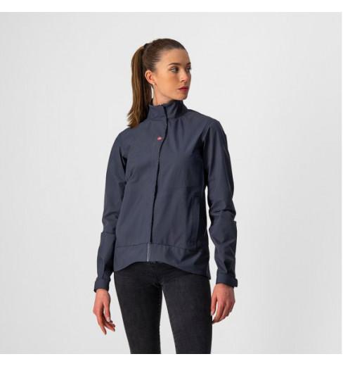 CASTELLI veste cycliste femme Commuter Reflex Bleu Foncé 2022