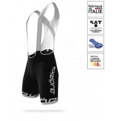 BJORKA Premium 2021 black / white bib shorts