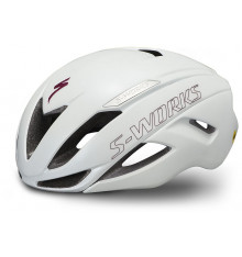 SPECIALIZED casque route S-Works Evade II Blanc / Marron