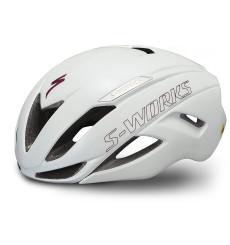 SPECIALIZED S-Works Evade II road helmet - Matte / Gloss Metallic White / Maroon