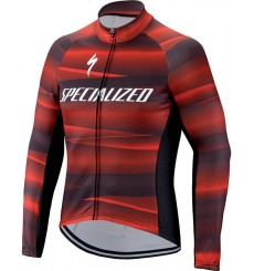 SPECIALIZED maillot velo manches longues TEAM SL EXPERT SOFTSHELL 2022