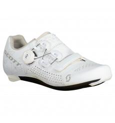 SCOTT Team BOA® Matte white Lady road cycling shoes 2022