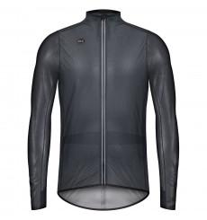 GOBIK Pluvia True Black unisex light cycling jacket 2022