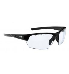 AZR KROMIC IZOARD Black vernice with colorless photochromic lens cycling sunglasses