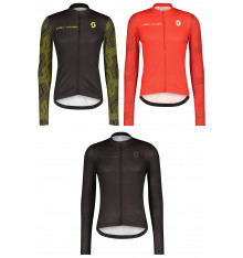 SCOTT maillot cycliste manches longues homme RC TEAM 10 2022