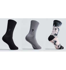 SPECIALIZED Cotton Tall cycling socks 2022