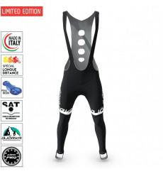 BJORKA Team Winter Black White cycling tights 2022