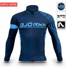 BJORKA Zenith Marine Blue thermal winter cycling jacket