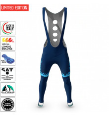 BJORKA Team Winter Turquoise Blue cycling tights 2022