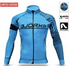 BJORKA veste thermique vélo hiver Zenith Turquoise 2022